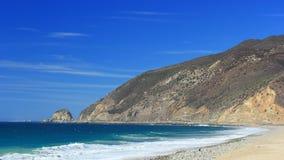 Praia da vassoura de Thornhill, Califórnia Fotografia de Stock Royalty Free