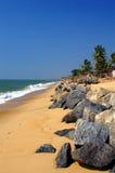 Praia da vila de Ullal Fotos de Stock Royalty Free