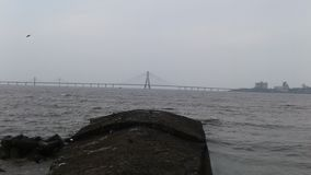 Praia dadar de Mumbai imagem de stock royalty free