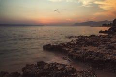 Praia Dalmácia, Croácia Foto de Stock Royalty Free