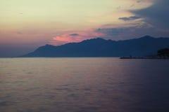 Praia Dalmácia, Croácia Fotografia de Stock