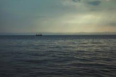 Praia Dalmácia, Croácia Imagem de Stock