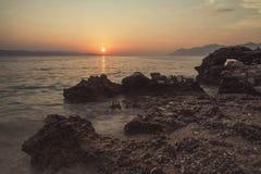 Praia Dalmácia, Croácia Fotografia de Stock Royalty Free
