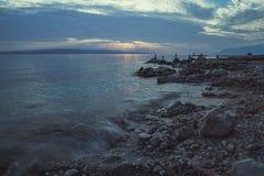 Praia Dalmácia, Croácia Foto de Stock