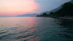 Praia Dalmácia, Croácia vídeos de arquivo