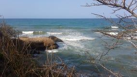 Praia das caraíbas Imagens de Stock