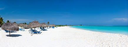 Praia das caraíbas bonita imagem de stock royalty free