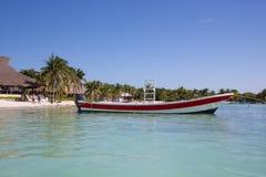 Praia das caraíbas de Akumal - México Riviera maia Fotografia de Stock Royalty Free