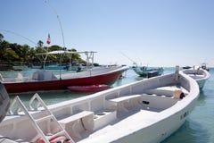 Praia das caraíbas de Akumal - México Riviera maia Imagens de Stock