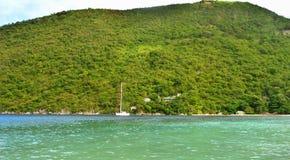 Praia das caraíbas em Haiti Fotografia de Stock