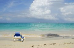 Praia das caraíbas tropical Fotos de Stock
