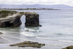 Praia das catedrais Imagens de Stock Royalty Free