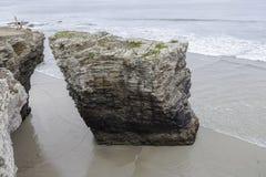 Praia das catedrais Fotografia de Stock