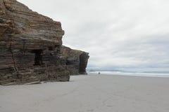 Praia das catedrais Imagens de Stock