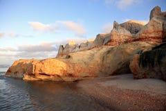 Praia das fontes Stock Image