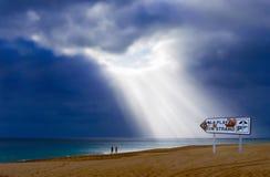 Praia das Ilhas Canárias Fotos de Stock