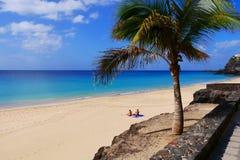 Praia das Ilhas Canárias Foto de Stock