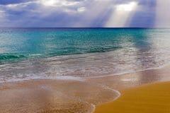 Praia das Ilhas Canárias Imagem de Stock
