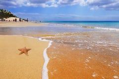 Praia das Ilhas Canárias Foto de Stock Royalty Free
