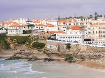Praia DAS Macas στην Πορτογαλία Στοκ Εικόνες