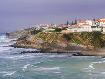Praia DAS Macas στην Πορτογαλία Στοκ Εικόνα