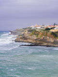 Praia das Macas in Portugal Stock Fotografie