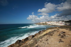 Praia das Macas Sintra Португалия Стоковое Изображение
