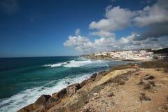 Praia das Macas Sintra Portogallo Immagine Stock