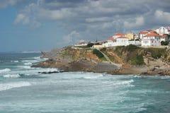 Praia das Macas Sintra Portugal Fotografía de archivo