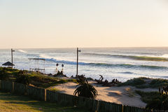 Praia das ondas Fotografia de Stock Royalty Free