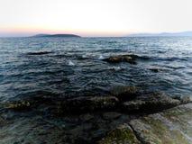 Praia das ondas Foto de Stock