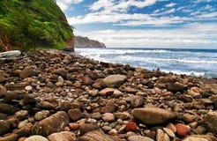 Praia das pedras Imagem de Stock Royalty Free