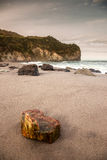 Praia de Açores Imagens de Stock Royalty Free