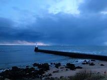 Praia de Aberdeen fotografia de stock