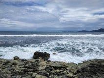 Praia de Aceh Fotos de Stock Royalty Free