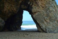 Praia de Adraga Imagenes de archivo