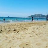 Praia de Agadir Fotos de Stock
