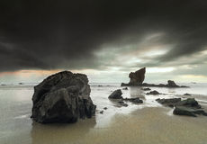 Praia de Aguilar Foto de Stock