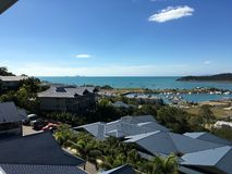 Praia de Airlie, Queensland, Austrália foto de stock royalty free