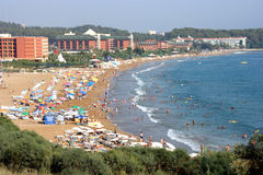 Praia de Alanya Imagens de Stock