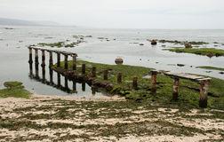 Praia de Algarrobo Foto de Stock