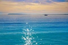 Praia de Almadraba em Alicante da Espanha foto de stock royalty free