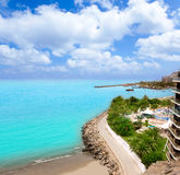 Praia de Anfi Del Mar Anfidelmar em Gran Canaria imagem de stock royalty free