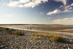 Praia de Anglesey imagem de stock royalty free