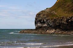 Praia de Anglesey fotos de stock