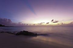 Praia de Anguila Imagens de Stock