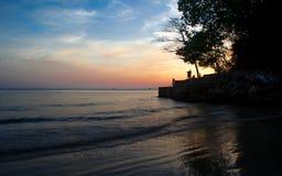 Praia de Aonang Imagens de Stock