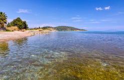 Praia de Archaia Epidaurus, Argolis, Greece Foto de Stock