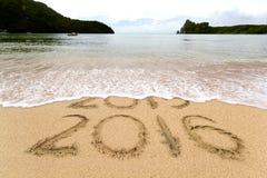 praia de 2016 areias Foto de Stock