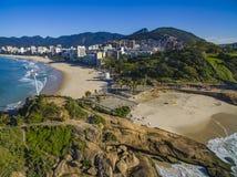 Praia de Arpoador, praia do ` s do diabo, distrito de Ipanema de Rio de janeiro Brazil fotos de stock